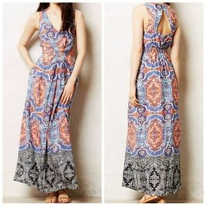 Anthropologie (Maeve) Printed Maxi Dress!